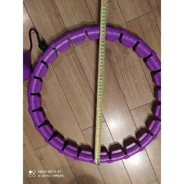 Obręcz sportowa hula hop składane