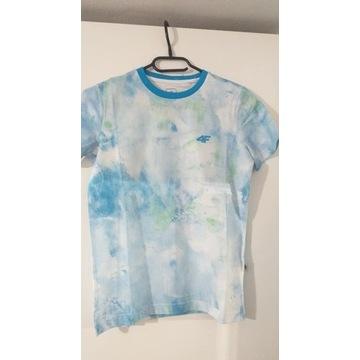 Koszulka chłopięca 4f rozmiar 146