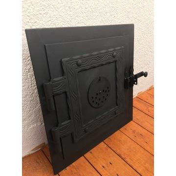 Drzwiczki  do wędzarni,pieca,grill,palenisko drzwi