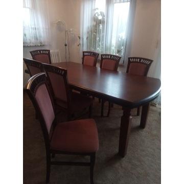 Stół i 8 krzeseł