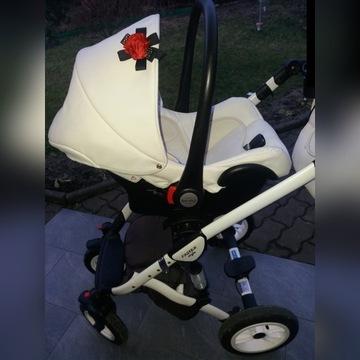 Wózek 3w1 FASTER STYLE. Baby merc.