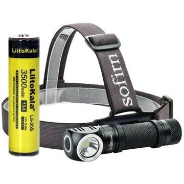 Sofirn SP40 5300K 1200lm magnes + bateria 3500mAh