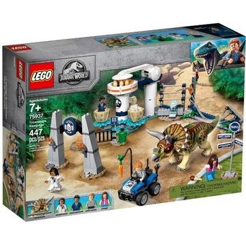 LEGO 75937 Jurassic World - Atak triceratopsa