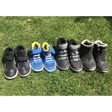 Buty dla chłopca, zestaw, kilka par