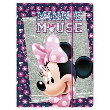 Teczka A4 z gumką Myszka Minnie