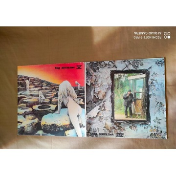 Led Zeppelin płyty winylowe IV i V stan Ex -