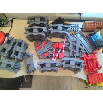 Lego Duplo ogromny zestaw kolejowy -