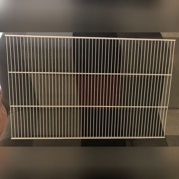 Druciana półka 800 x 500 mm biała Element System