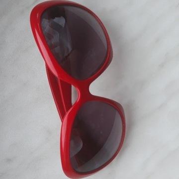 Okulary czerwone z filtrem UV400