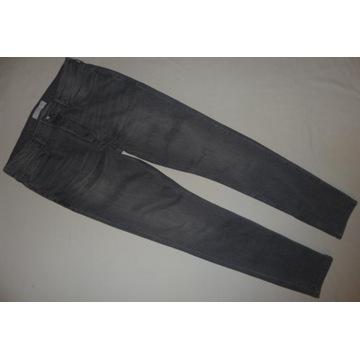 Topman H&M spodnie jeansy 34/32 pas 90cm dł 109cm
