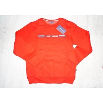 bluza męska czerwona r M TOMMY