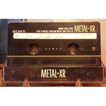 Kaseta SONY Metal-XR 90 Type IV