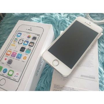 IPhone 5s Silver 16gb bardzo ładny okazja 100%
