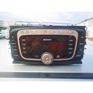 Radio Sony Focus Mk2 FL, Mondeo, Kuga, Galaxy