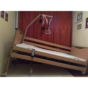 Łóżko rehabilitacyjne LUNA 2 Basic z materacami
