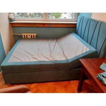 Łóżko kontynentalne MARGO z Agata Meble 160x200