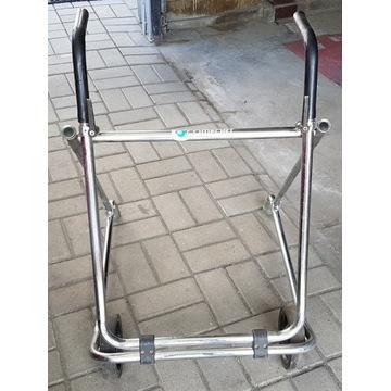 Chodzik rehabilitacyjny balkonik 2-kołowy rozkłada