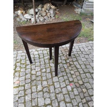 Okrągły stół, konsola pod lustro śr.90cm .