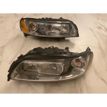 Reflektor xenon Volvo XC70 lampa komplet prawa lew