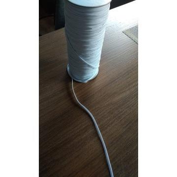 Guma, gumka płaska elastyczna 3mm 180m