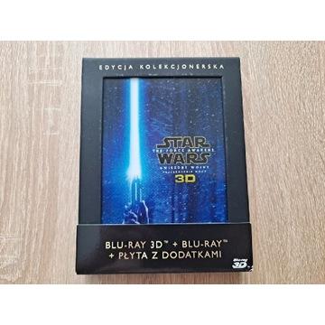 Star Wars Przebudzenie Mocy Blu-ray Polskie