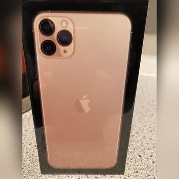 Nowy IPhone 11 Pro Max  256 GB Złoty