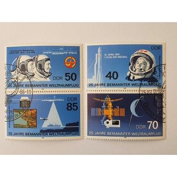 (1777) DDR blok znaczki kosmos