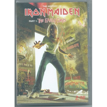 IRON MAIDEN - The Early Years - 2xDVD