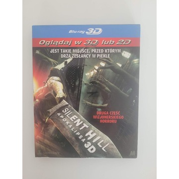 Silent Hill: Apokalipsa 3D + 2D BLU-RAY PL BDB+