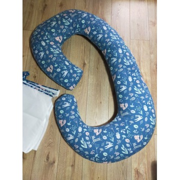 Poduszka dla kobiet w ciąży typu C rogal