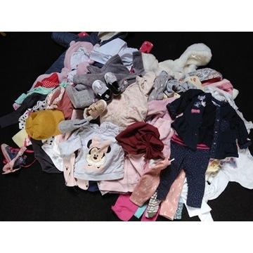 mega paka ubrań dla niemowlaka dziewczynka 64-78