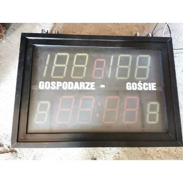 Elektroniczna tablica sportowa zegar