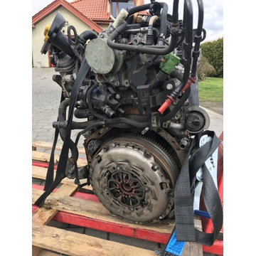 Silnik , alternator + sprzęgło + rozrusznik