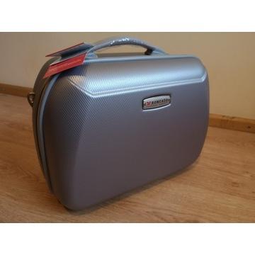 Roncato Carbon Light kuferek kosmetyczka podróżna