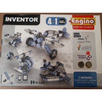 Klocki inventor engino 4w1