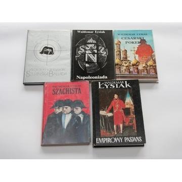 Waldemar Łysiak - 5 książek z Napoleonem