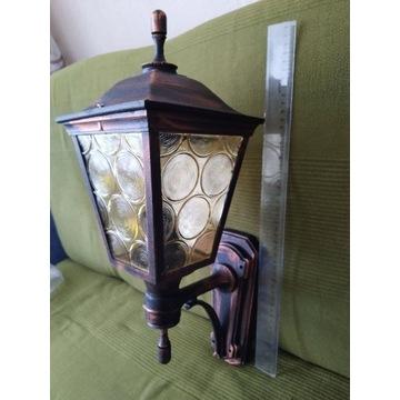Lampa zewnętrzna antyczna z tworzywa E27/60W