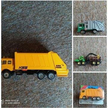 Zestaw samochodów ciężarowych siku 6322