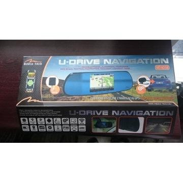 LUSTERKO WSTECZNE Z NAWIGACJĄ GPS