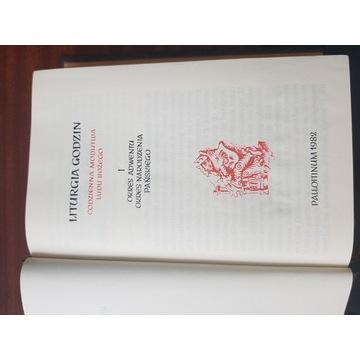 Brewiarz Liturgia Godzin tom I (1)