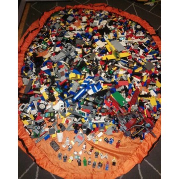Klocki Lego 10kg Star Wars i inne mix