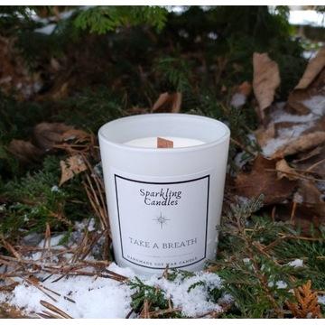 Take a breath - świeca zapachowa sojowa naturalna