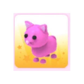 różowy kot roblox (adopt me)