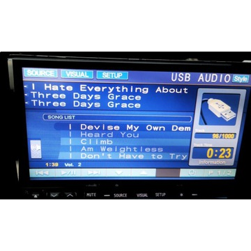 Radio samochodowe Alpine IVA-W520R + bluetooth USB