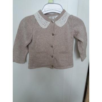 Sweterek bawełniany r.62/68 Lupilu Pure Collection