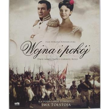 5 x VCD Wojna i pokój - reż. Siergieja Bondarczuka