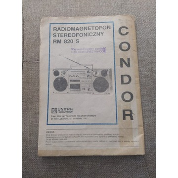 Instrukcja Condor
