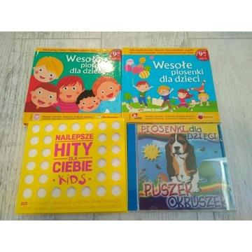 Wesołe piosenki dla dzieci hity Płyty CD 6 płyt