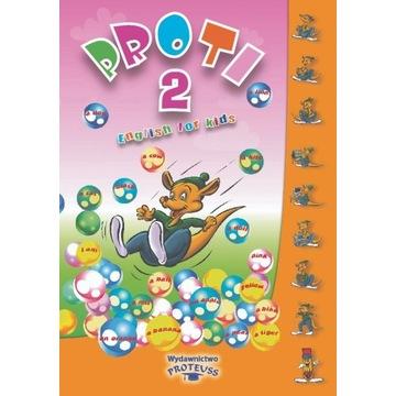 Książki do nauki j.ang dla dzieci 6-7 lat PROTI 2