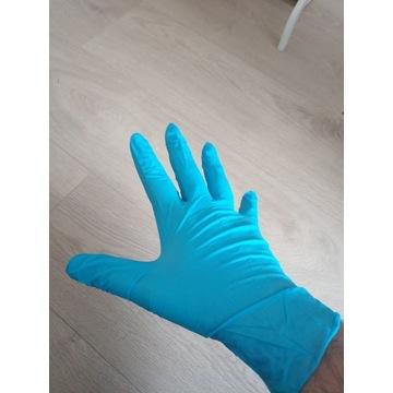 Rękawice rękawiczki nitrylowe 90szt XL MOCNE 100 %